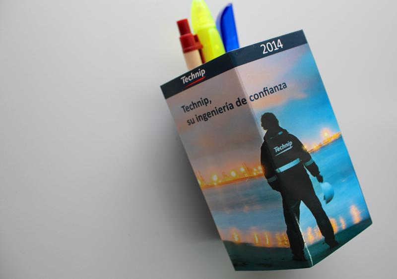 Technip Iberia - Diseño Calendario - Gasulla Comunicació