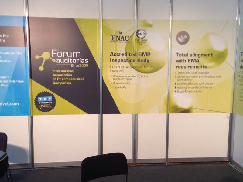 Diseño Stand Feria - Forum Auditorías - Gasulla Comunicació