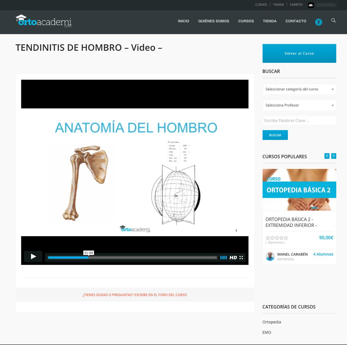 Ortoacademi.com Web