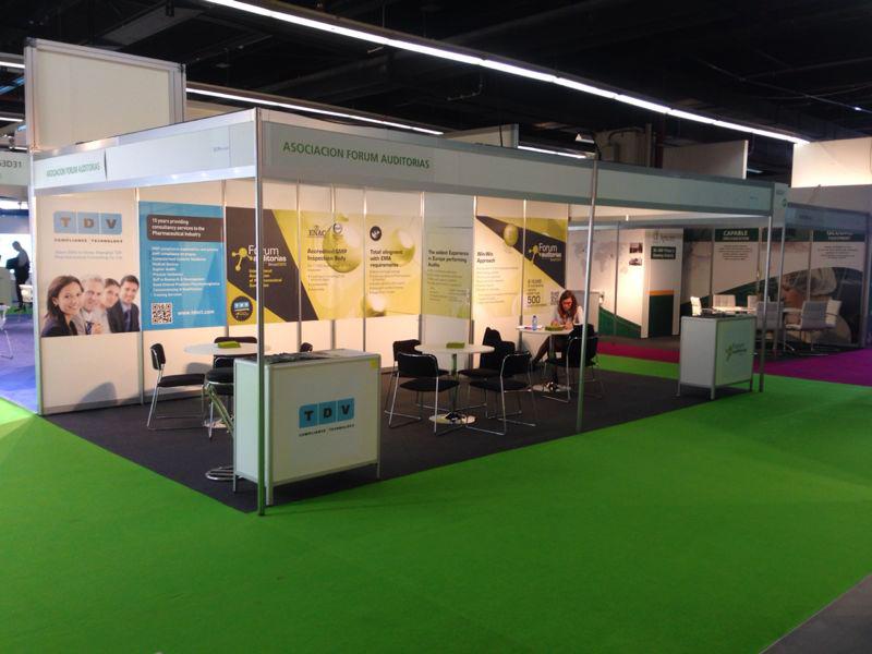 Diseño Stand Forum Auditorias · Gasulla Comunicació