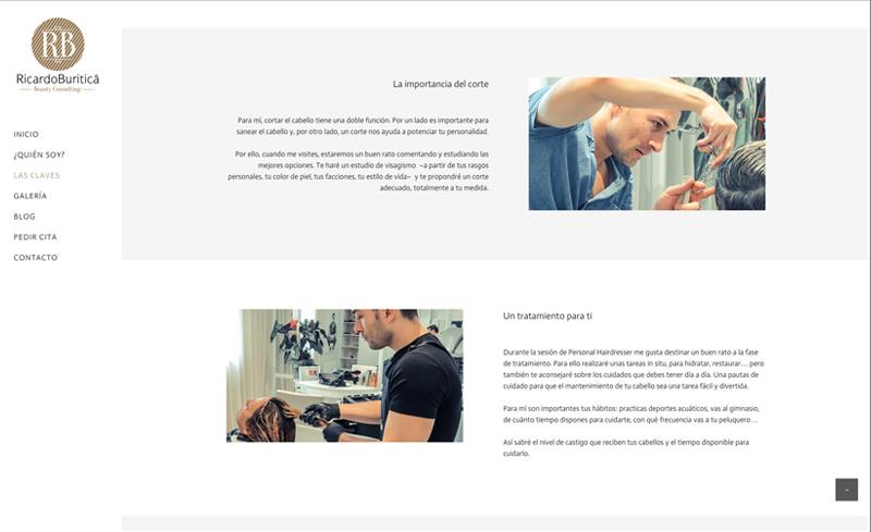 Ricardo Buriticá Diseño Web
